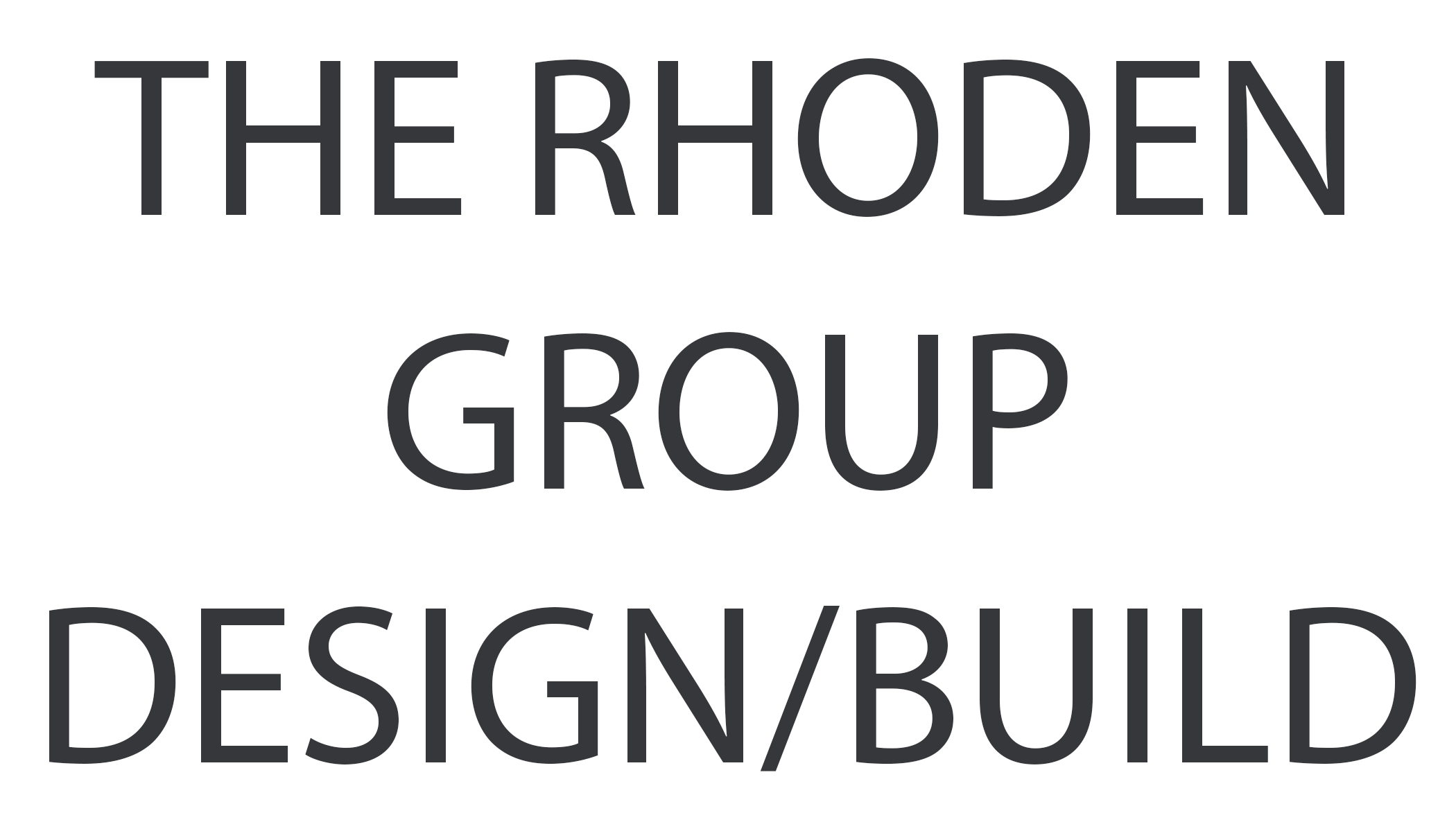 The Rhoden Group Design/Build